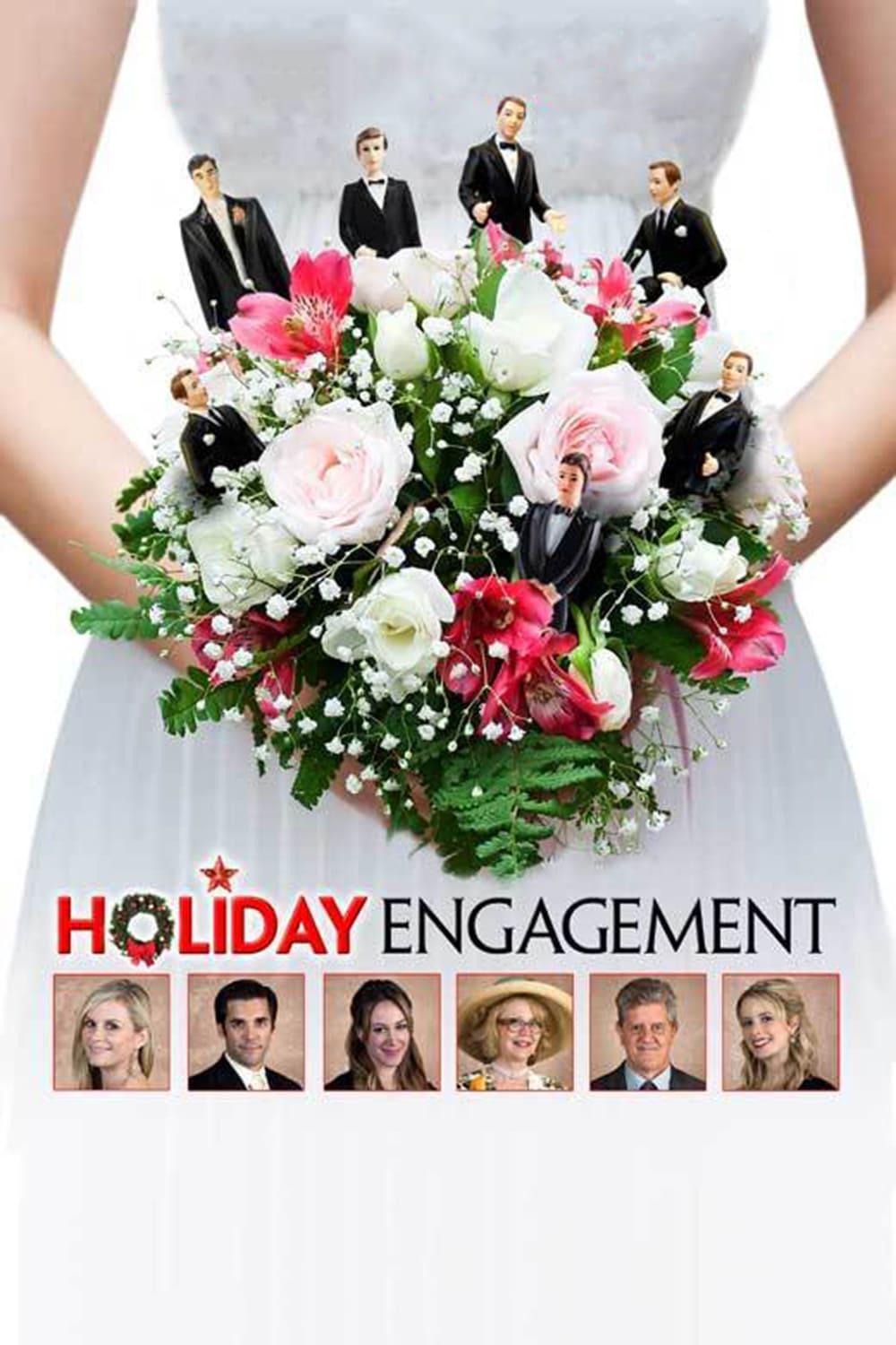 "Poster for the movie ""A Holiday Engagement"""