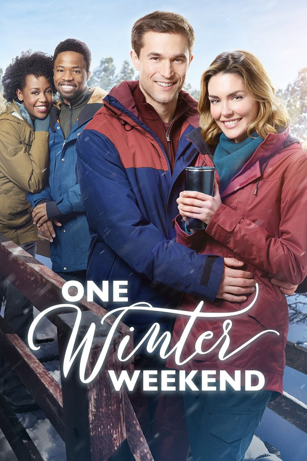 """Poster for the movie """"One Winter Weekend"""""""