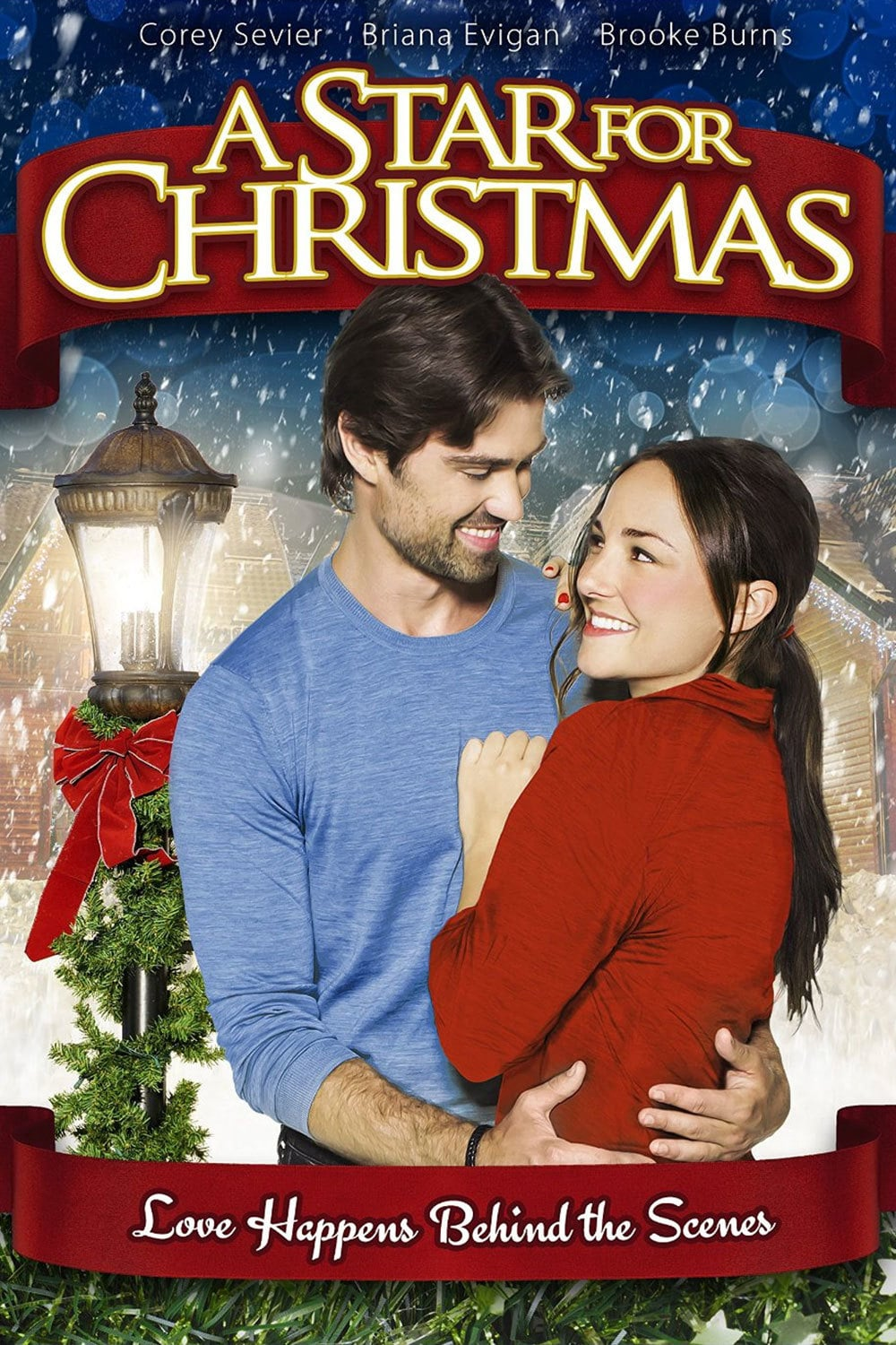 "Poster for the movie ""A Star for Christmas"""