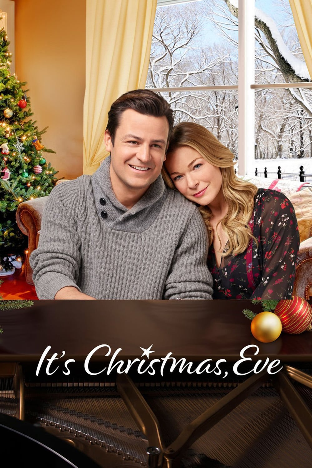 "Poster for the movie ""It's Christmas, Eve"""