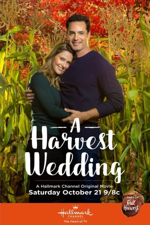 "Poster for the movie ""A Harvest Wedding"""