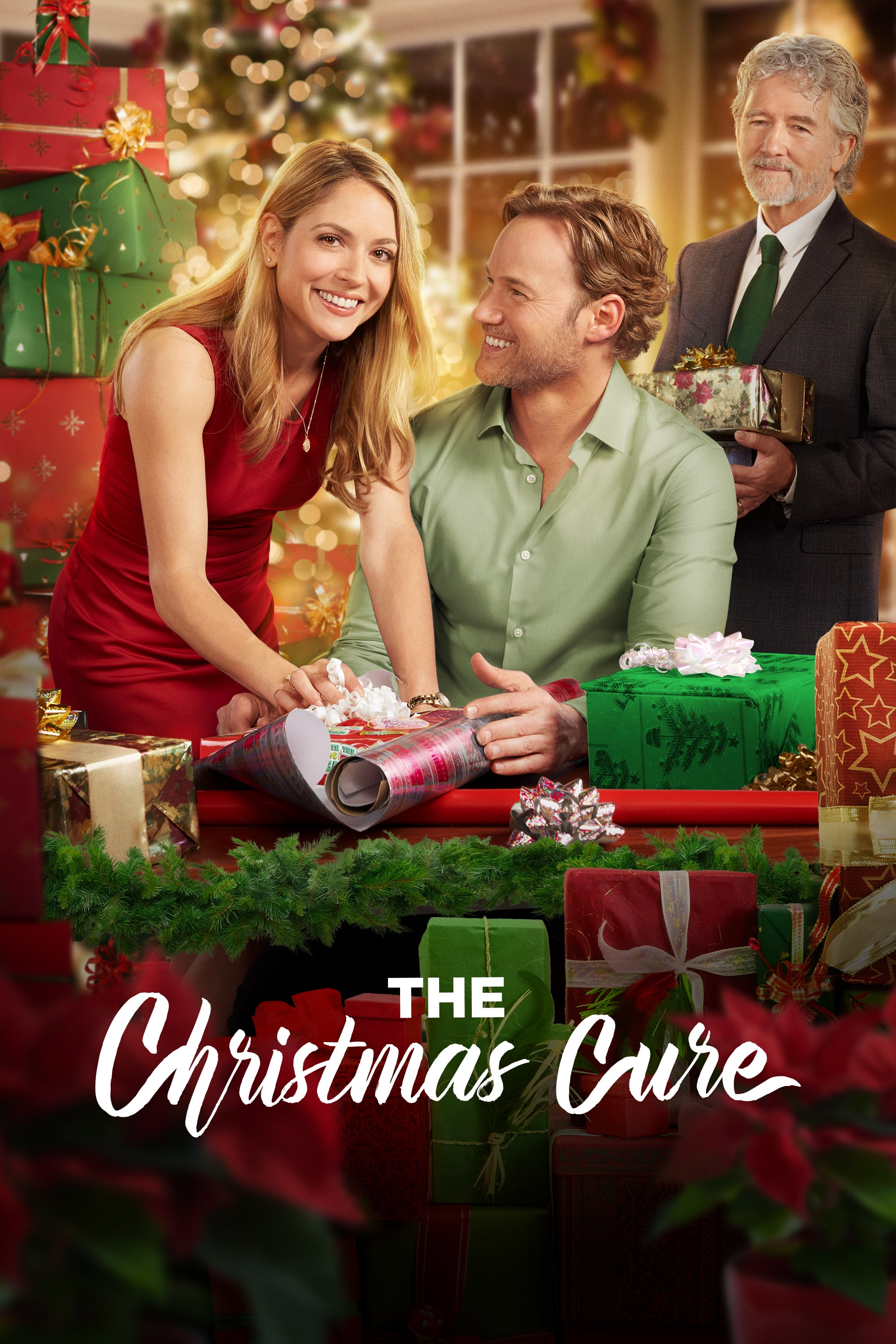 """Poster for the movie """"The Christmas Cure"""""""