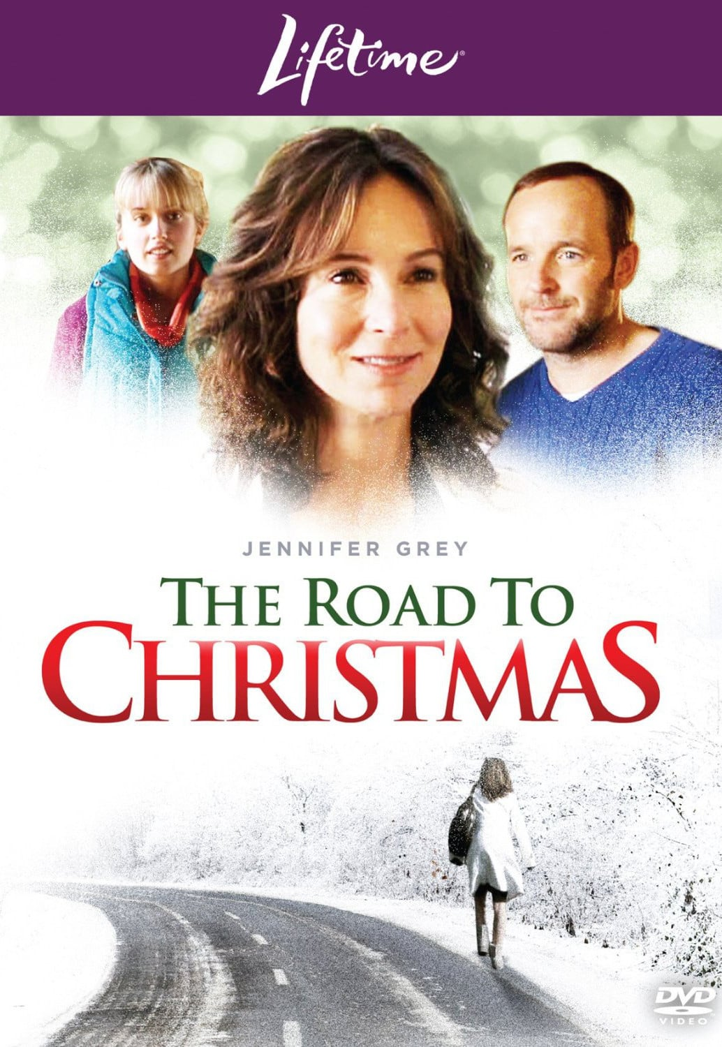 "Poster for the movie ""The Road to Christmas"""