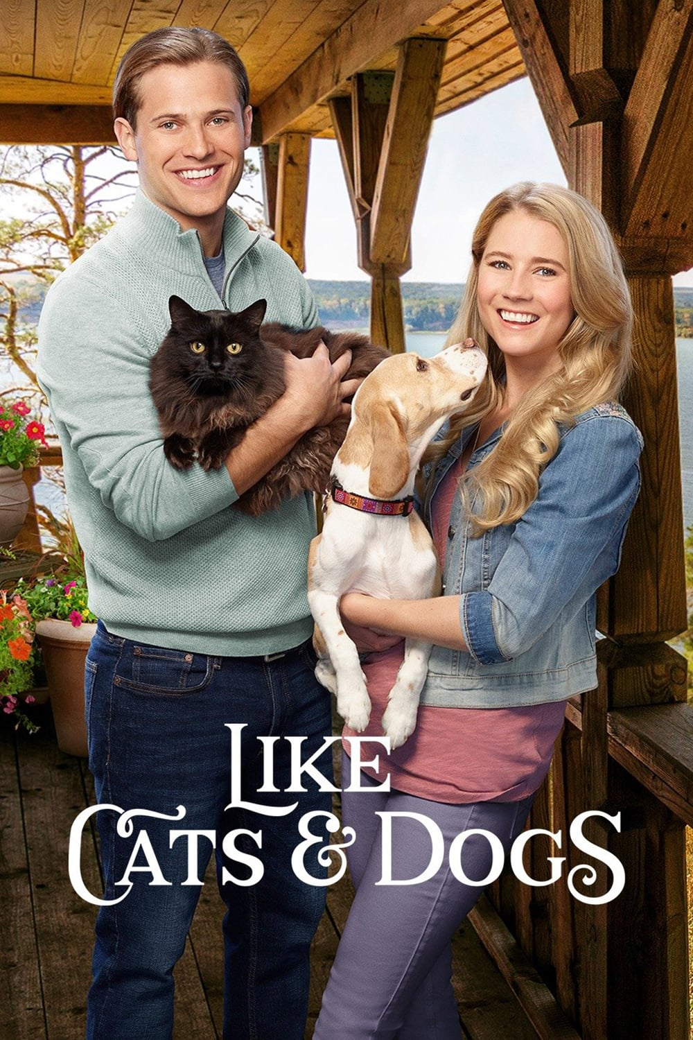 "Poster for the movie ""Like Cats & Dogs"""