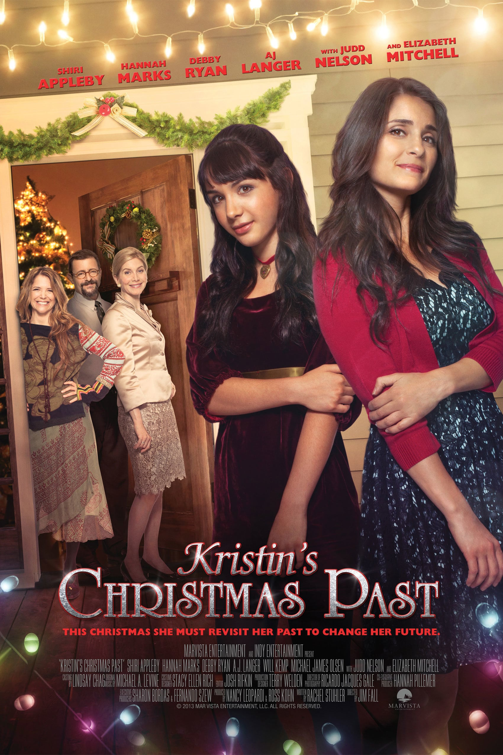 "Poster for the movie ""Kristin's Christmas Past"""