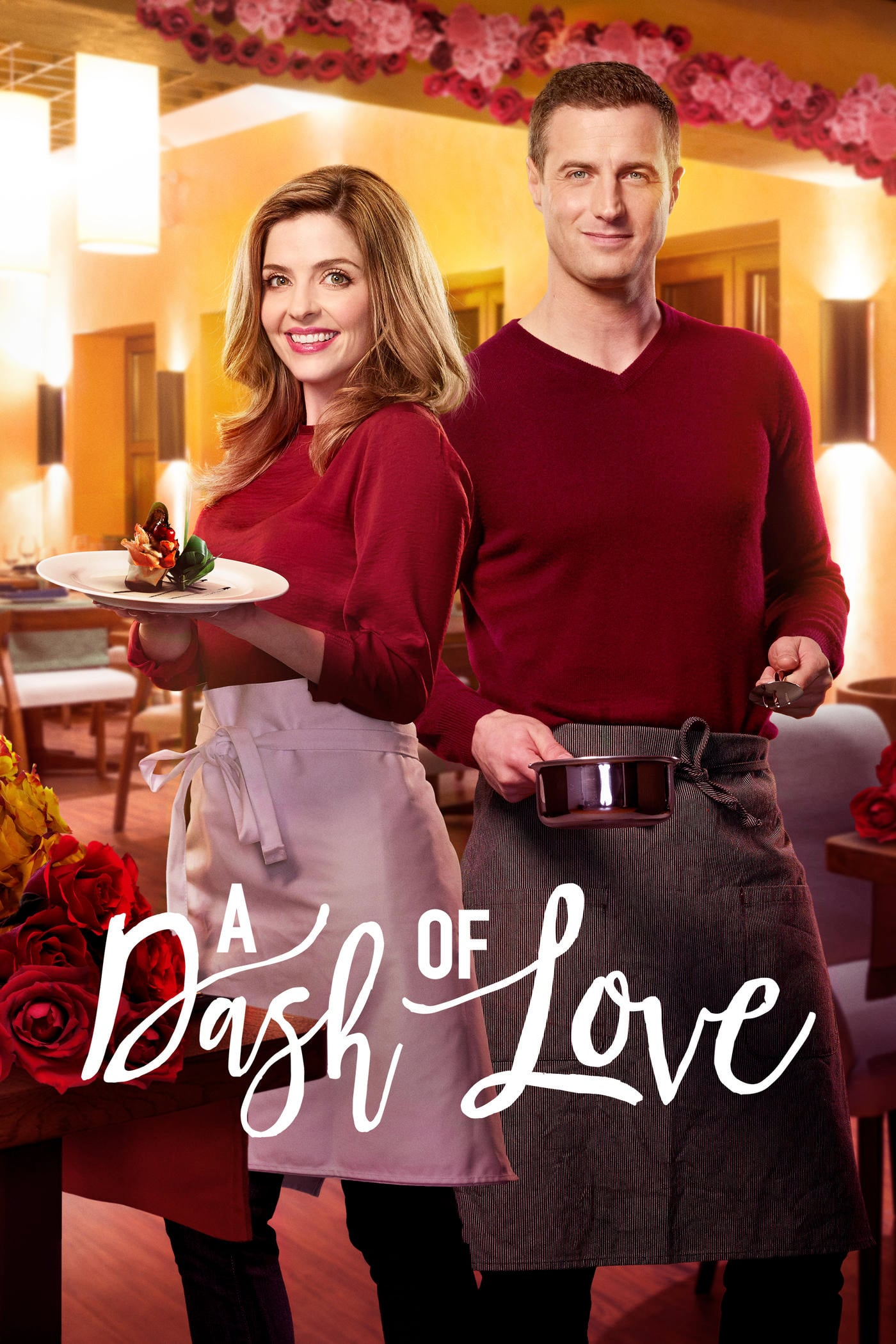 "Poster for the movie ""A Dash of Love"""