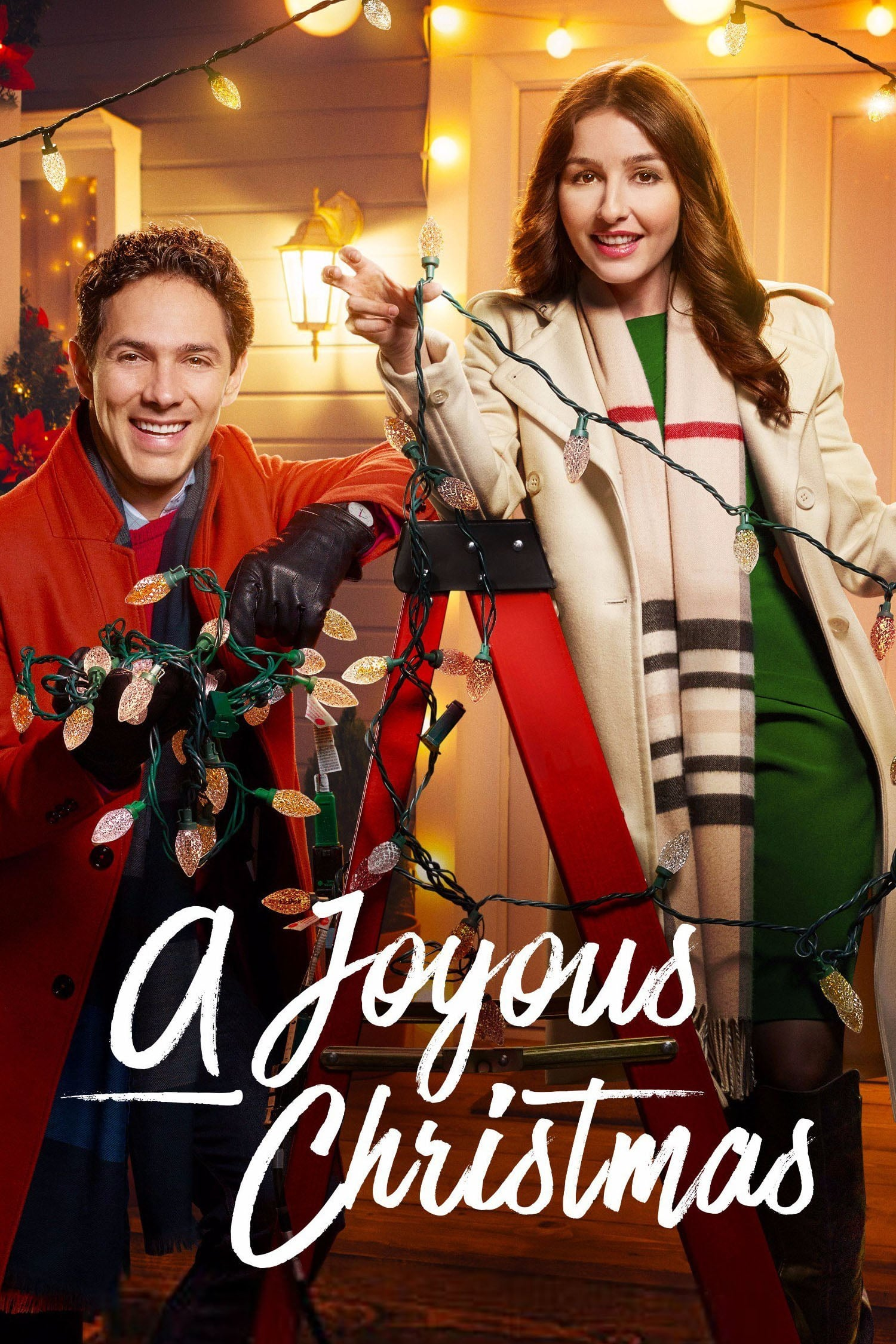 "Poster for the movie ""A Joyous Christmas"""