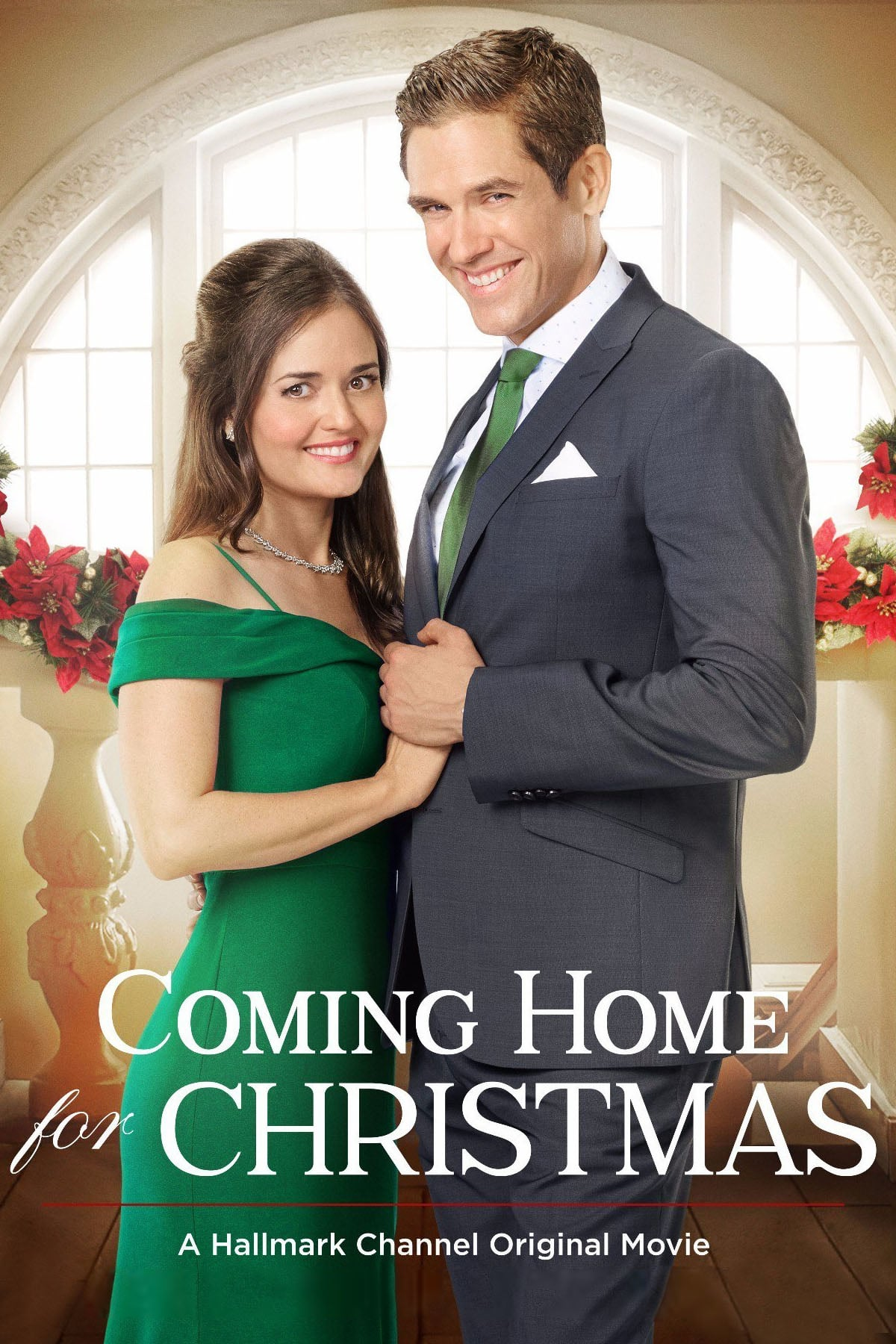 "Poster for the movie ""Coming Home for Christmas"""
