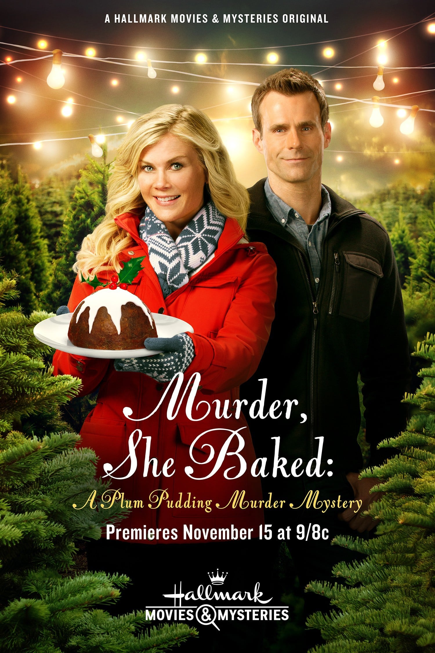 "Poster for the movie ""Murder, She Baked: A Plum Pudding Murder Mystery"""