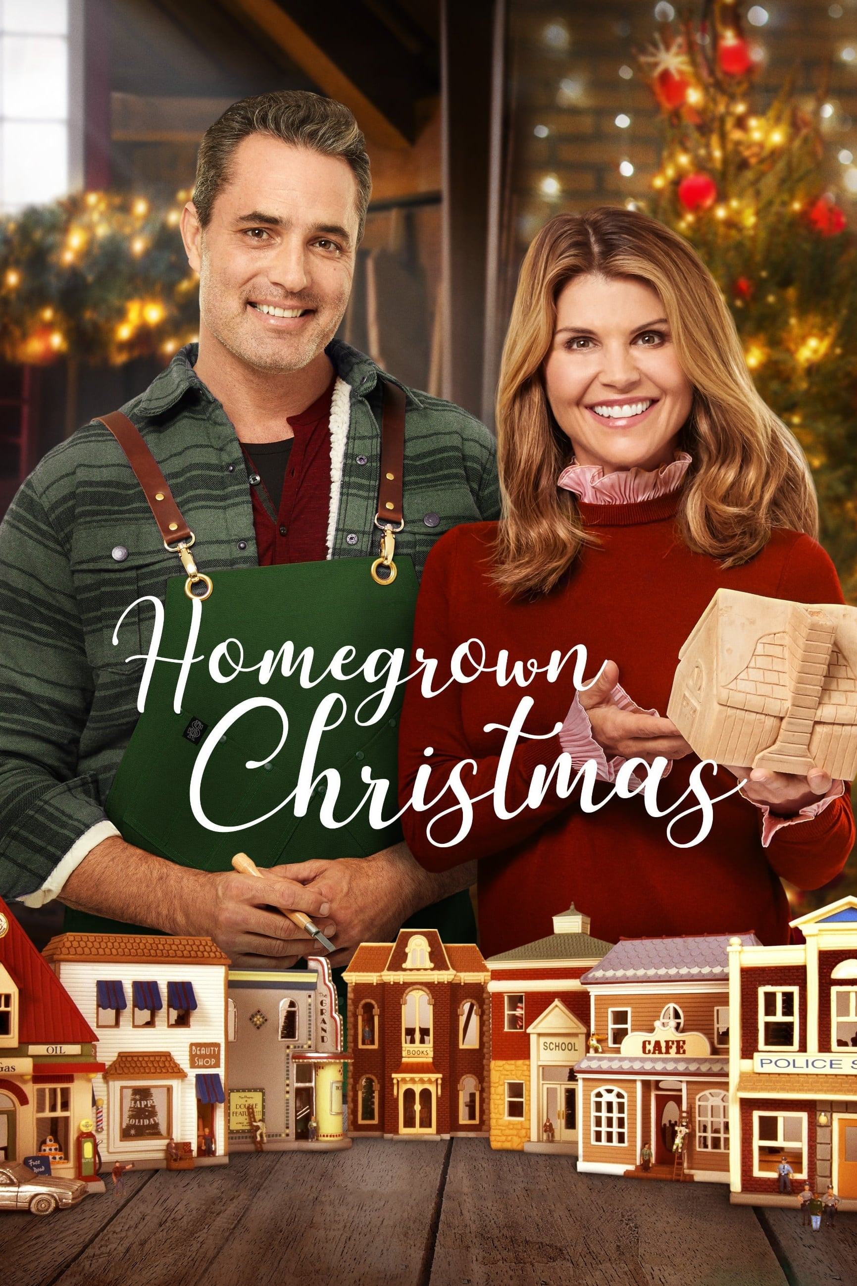 "Poster for the movie ""Homegrown Christmas"""