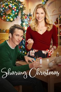 """Poster for the movie """"Sharing Christmas"""""""