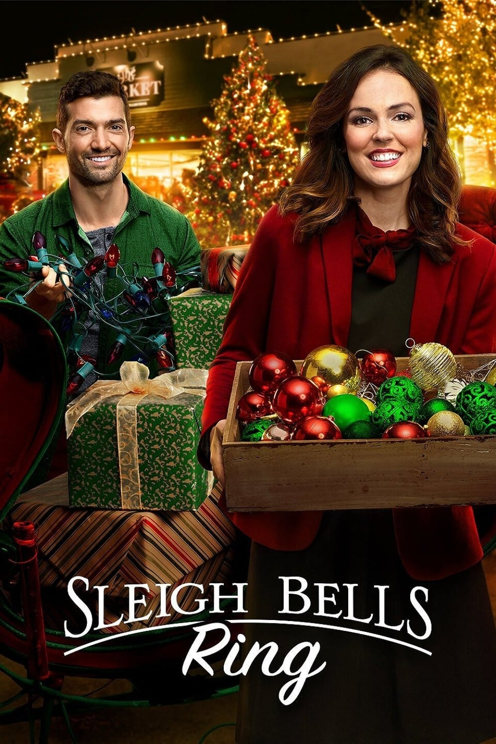 """Poster for the movie """"Sleigh Bells Ring"""""""