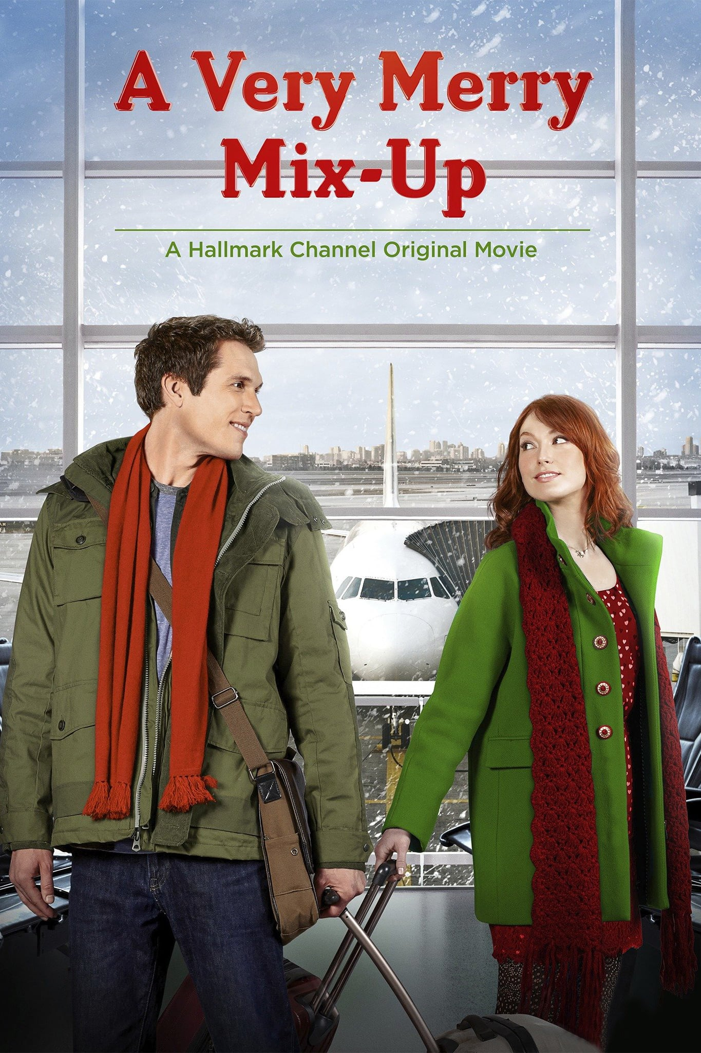 "Poster for the movie ""A Very Merry Mix-Up"""