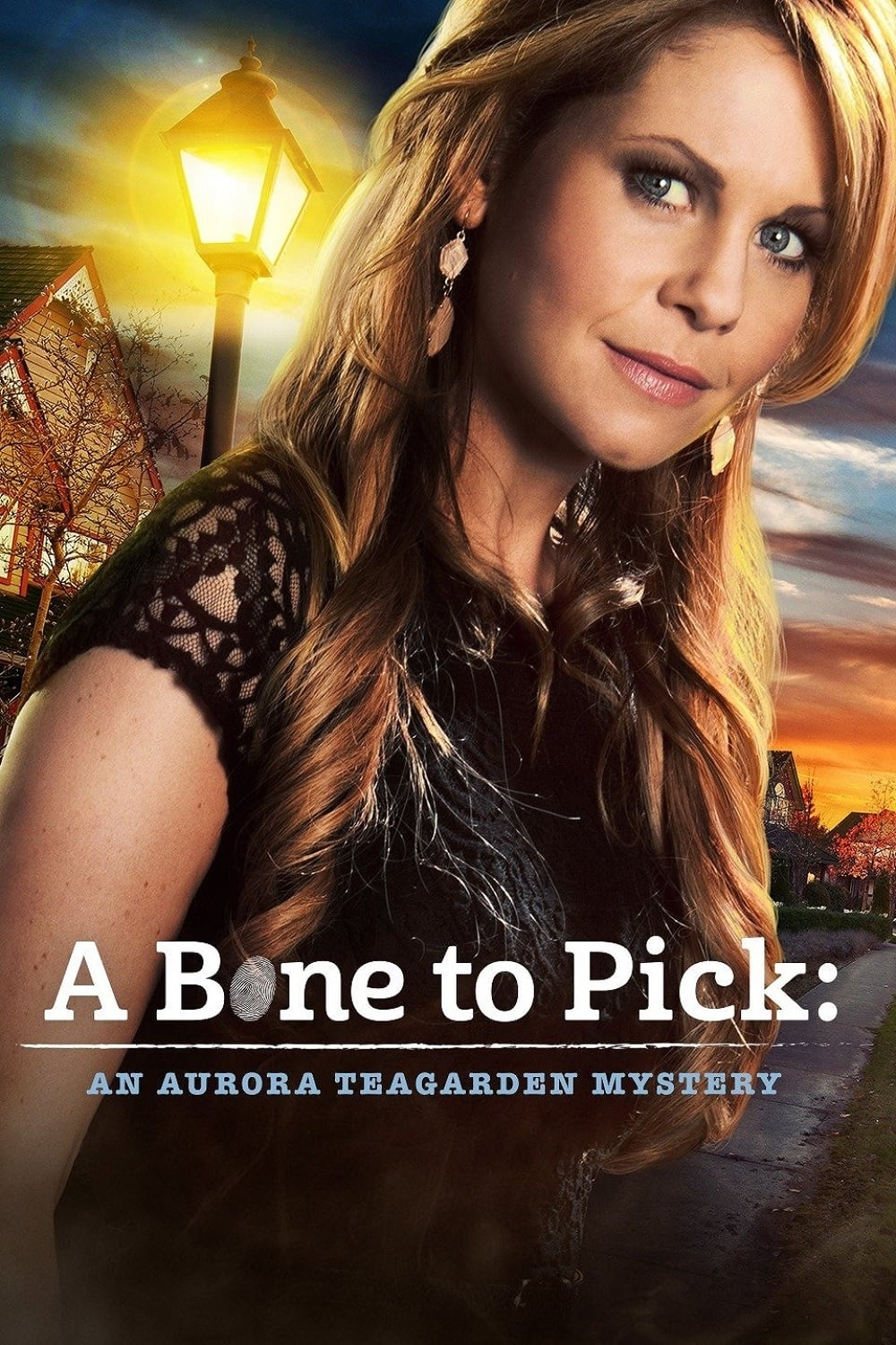 "Poster for the movie ""A Bone to Pick: An Aurora Teagarden Mystery"""