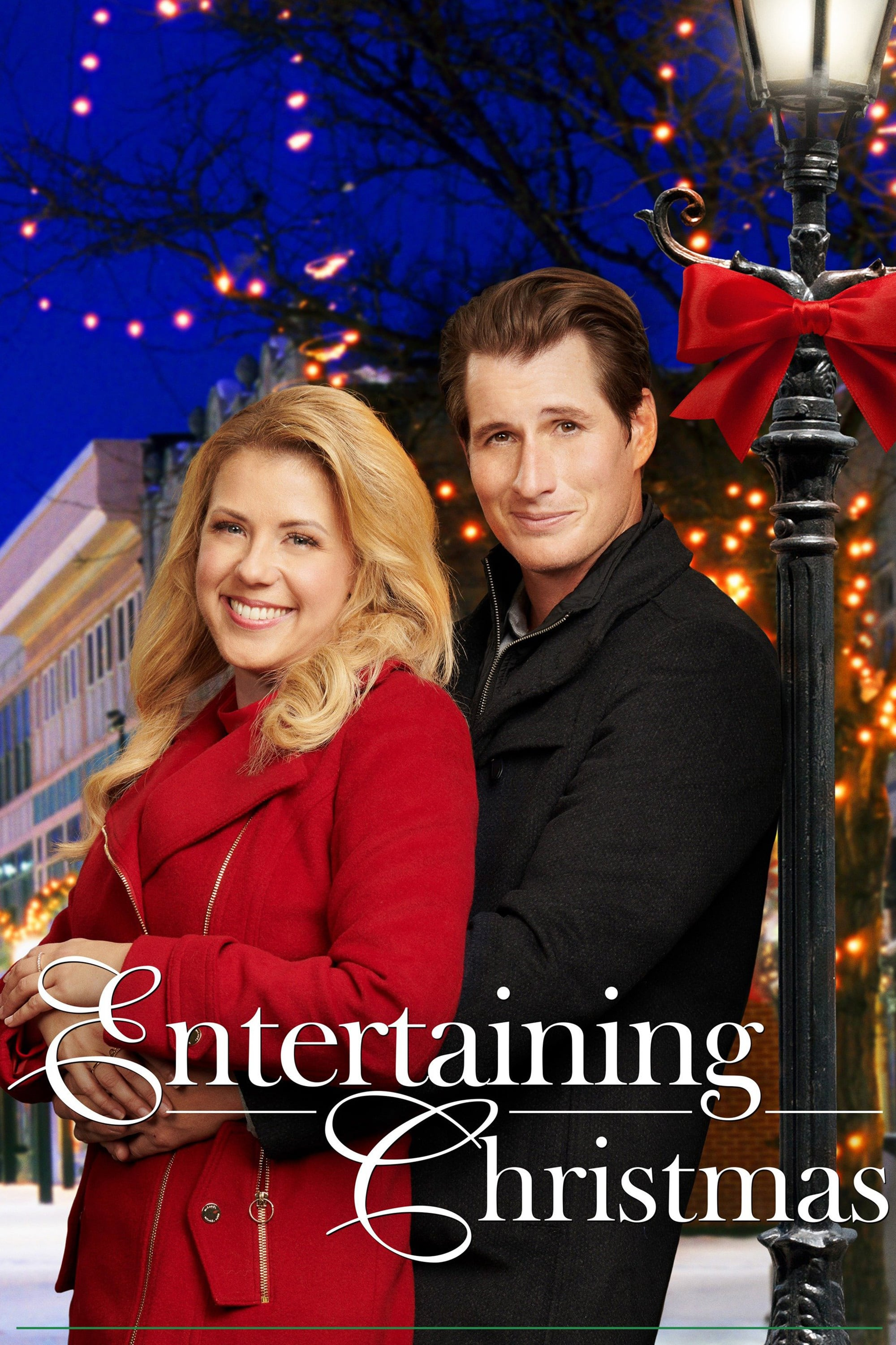 """Poster for the movie """"Entertaining Christmas"""""""