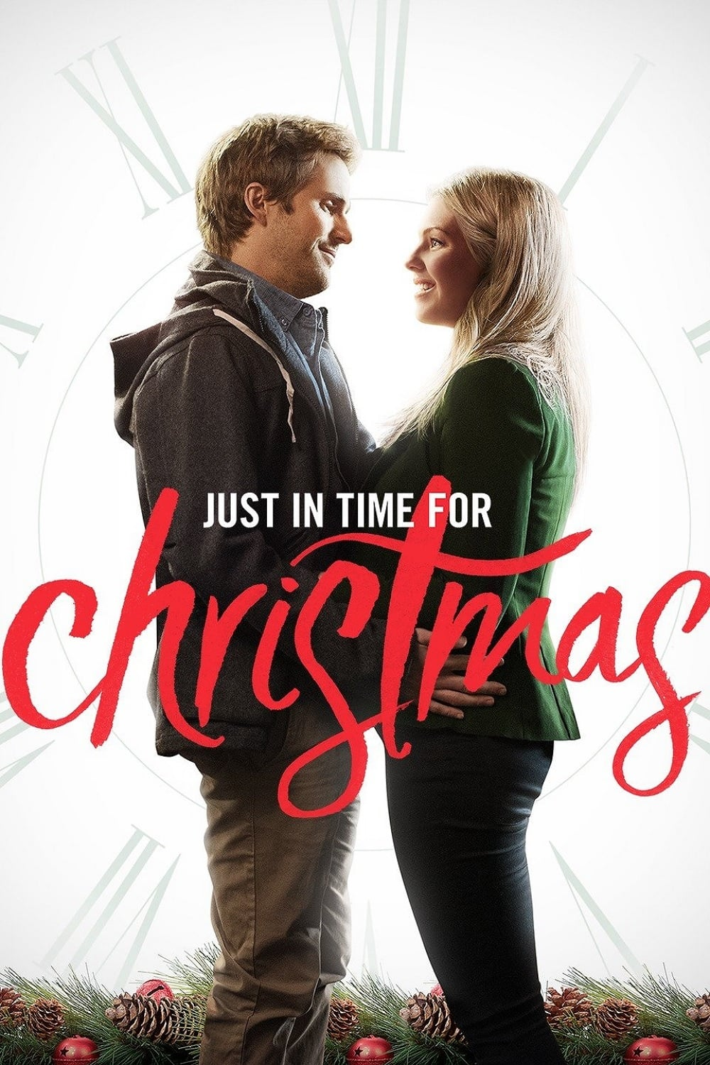 "Poster for the movie ""Just in Time for Christmas"""