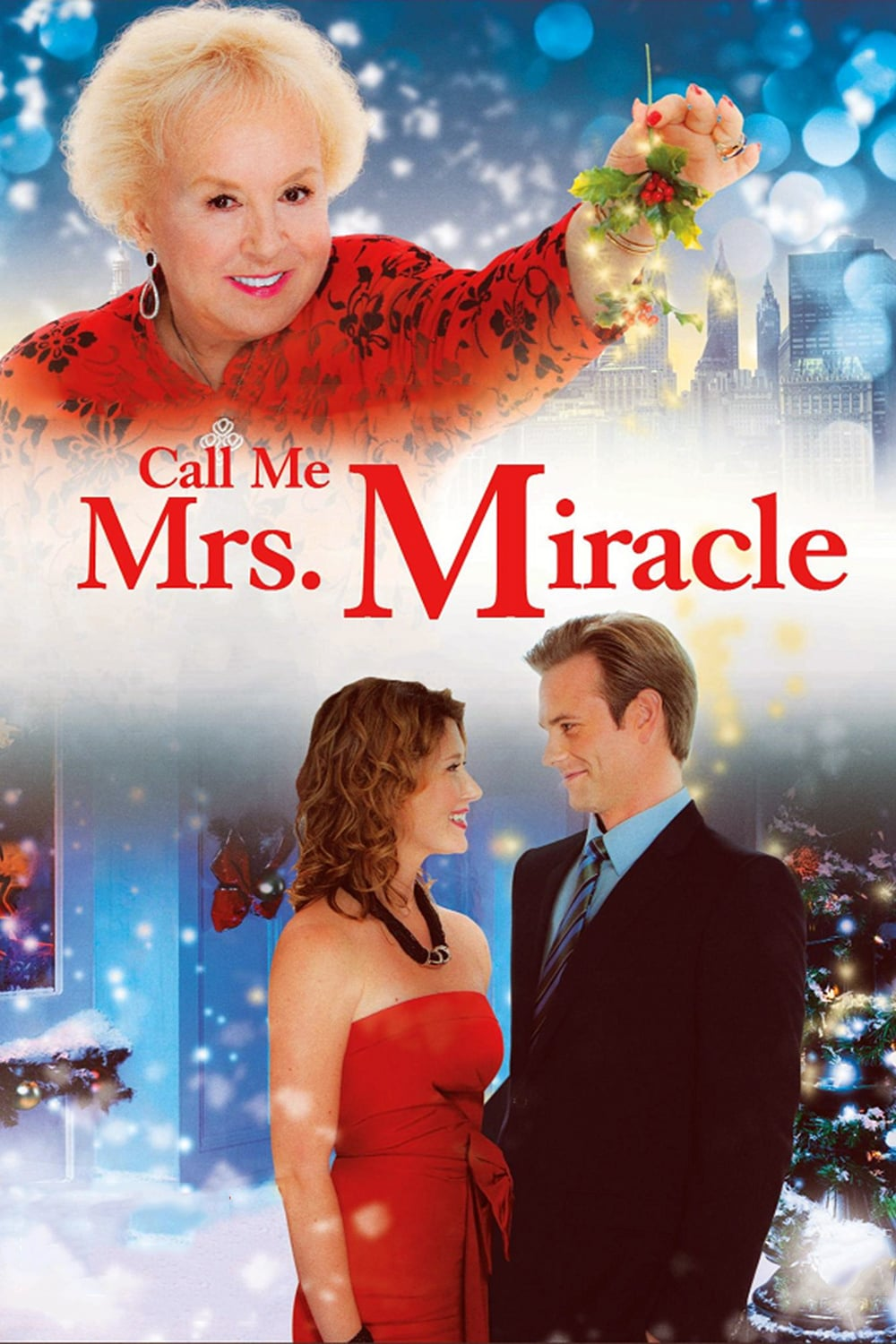 "Poster for the movie ""Call Me Mrs. Miracle"""