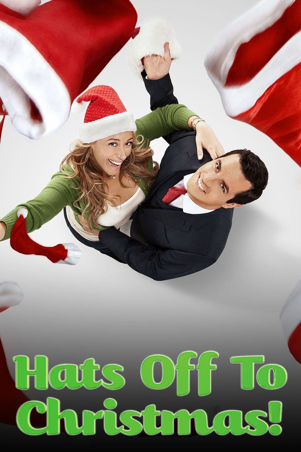 """Poster for the movie """"Hats Off to Christmas!"""""""