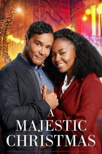 """Poster for the movie """"A Majestic Christmas"""""""