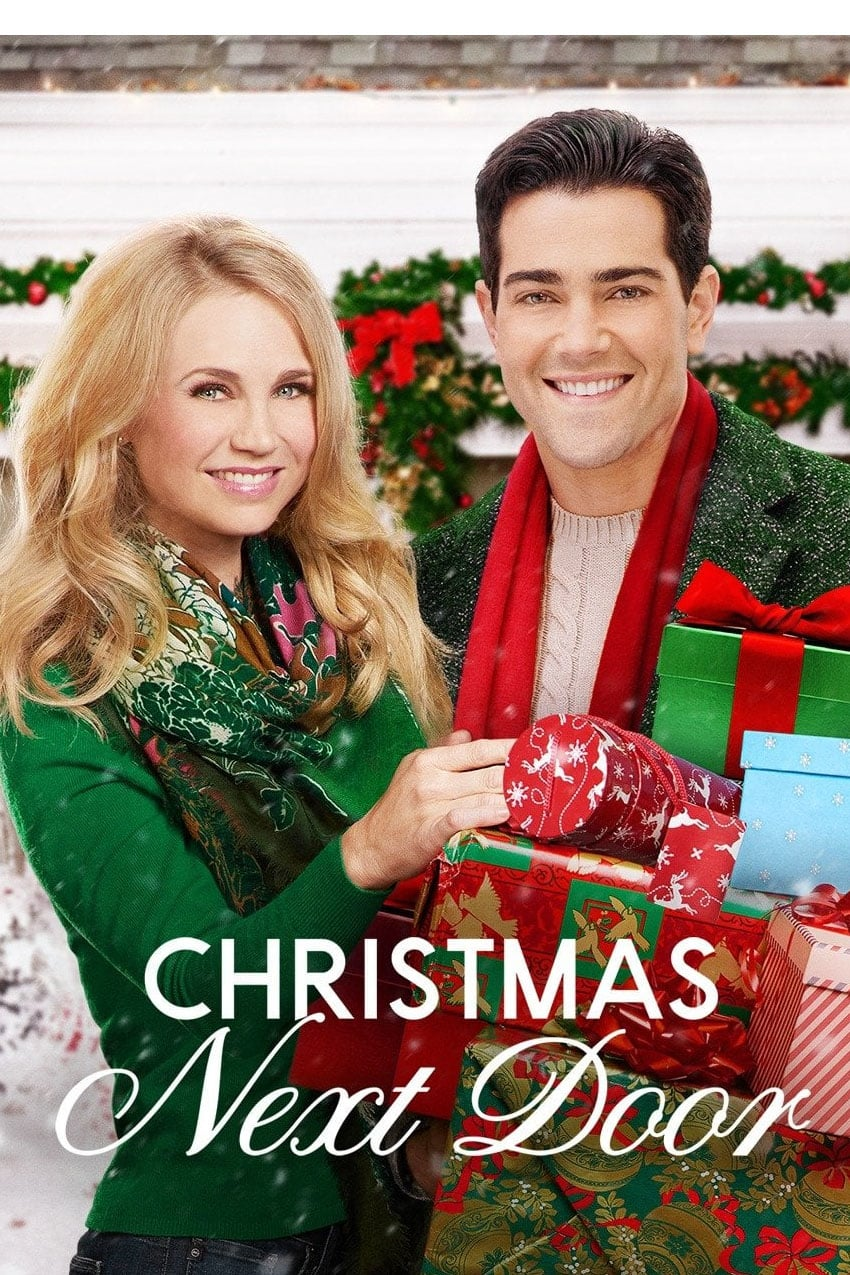 "Poster for the movie ""Christmas Next Door"""