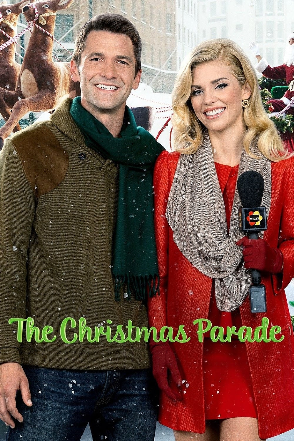 """Poster for the movie """"The Christmas Parade"""""""