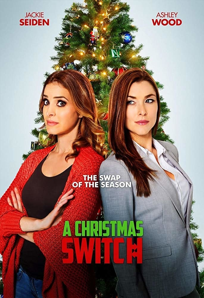 "Poster for the movie ""A Christmas Switch"""
