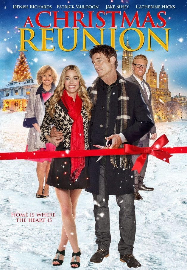 "Poster for the movie ""A Christmas Reunion"""