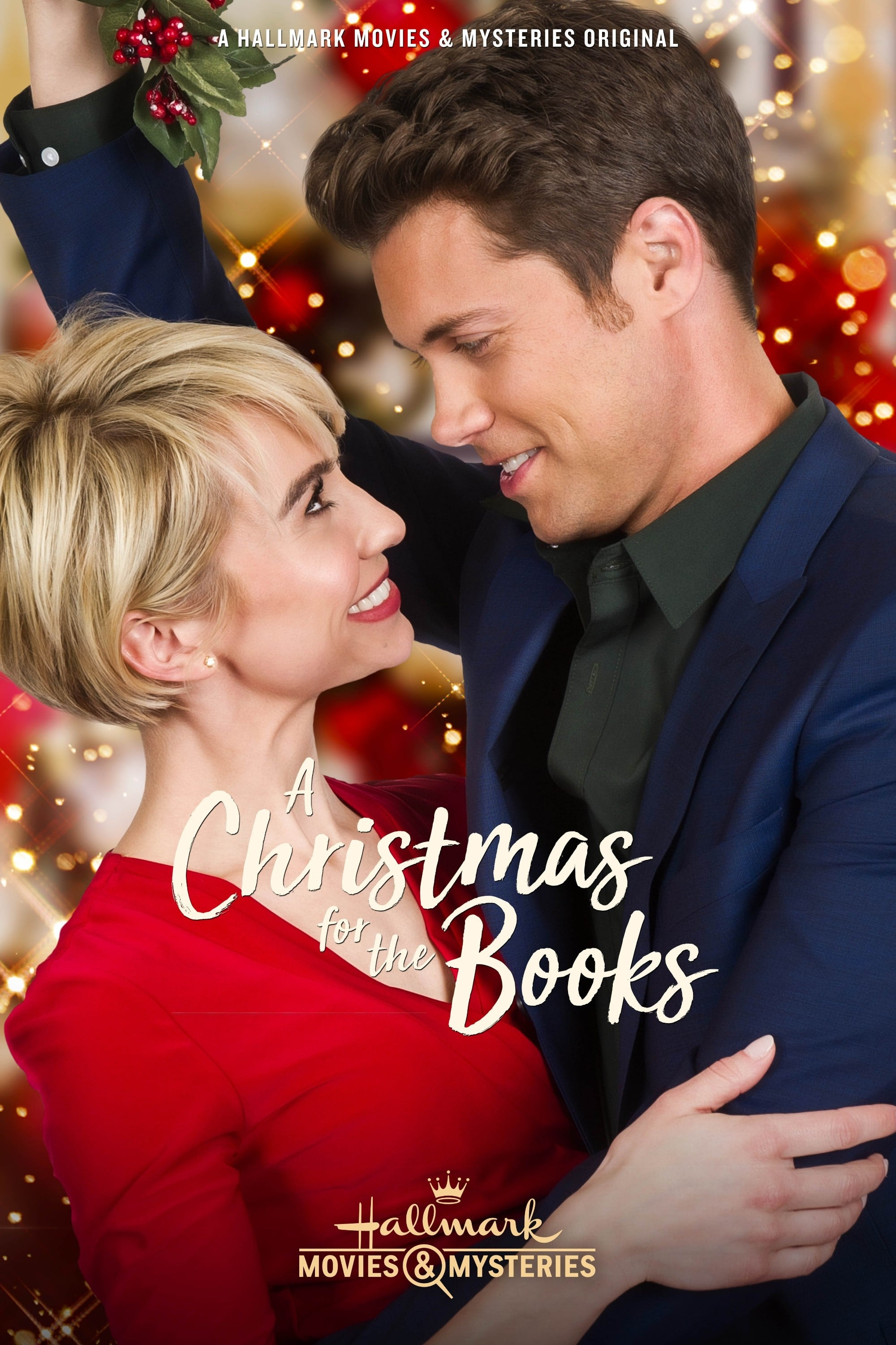 "Poster for the movie ""A Christmas for the Books"""