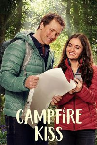 "Poster for the movie ""Campfire Kiss"""