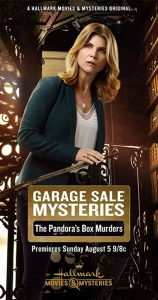 "Poster for the movie ""Garage Sale Mysteries: The Pandora's Box Murders"""