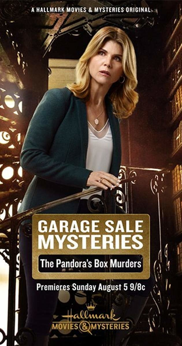 """Poster for the movie """"Garage Sale Mysteries: The Pandora's Box Murders"""""""