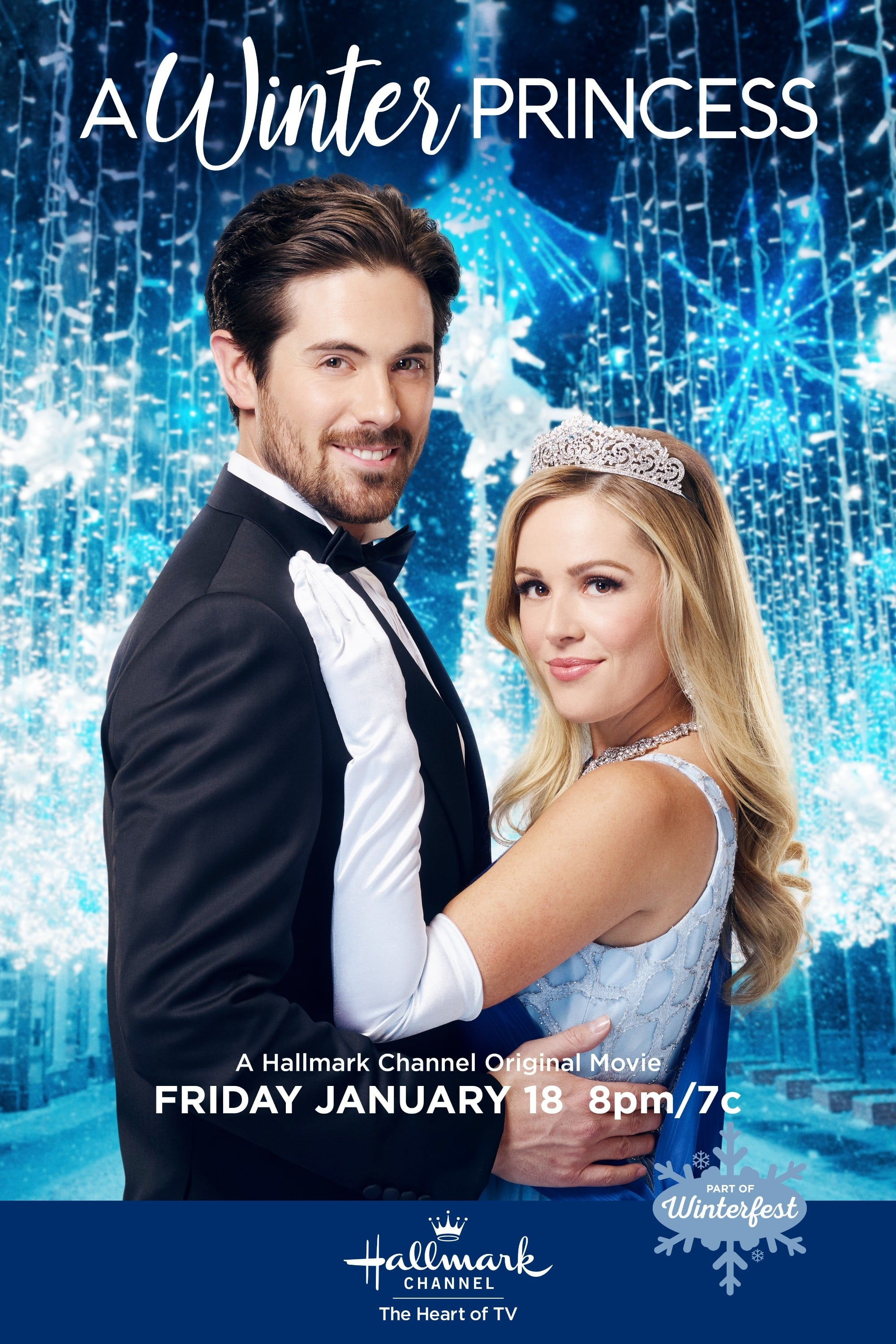 """Poster for the movie """"A Winter Princess"""""""