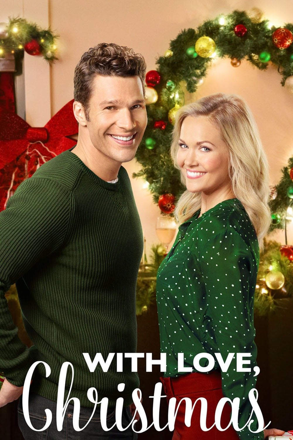 "Poster for the movie ""With Love, Christmas"""