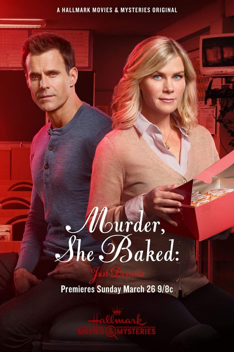 "Poster for the movie ""Murder, She Baked: Just Desserts"""