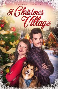 "Poster for the movie ""A Christmas Village"""