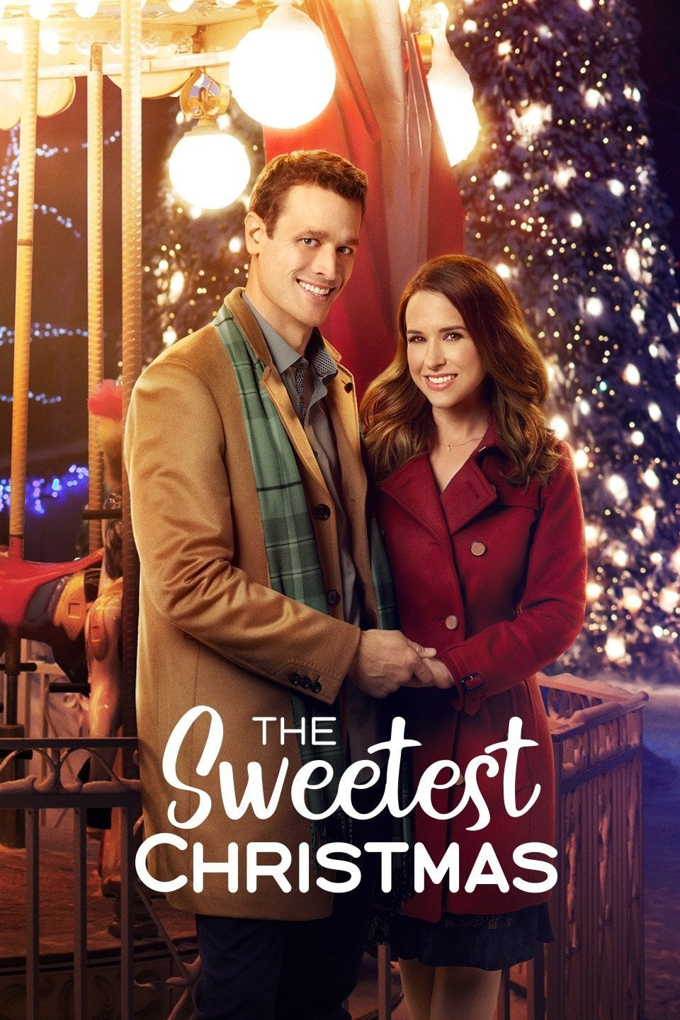 """Poster for the movie """"The Sweetest Christmas"""""""