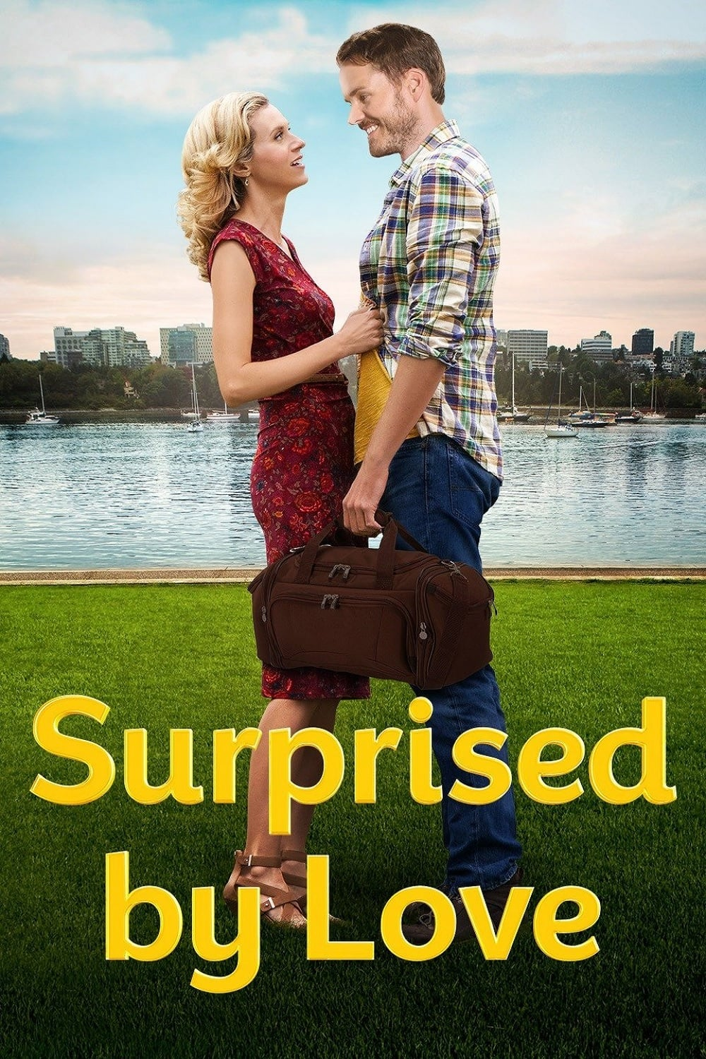 """Poster for the movie """"Surprised by Love"""""""