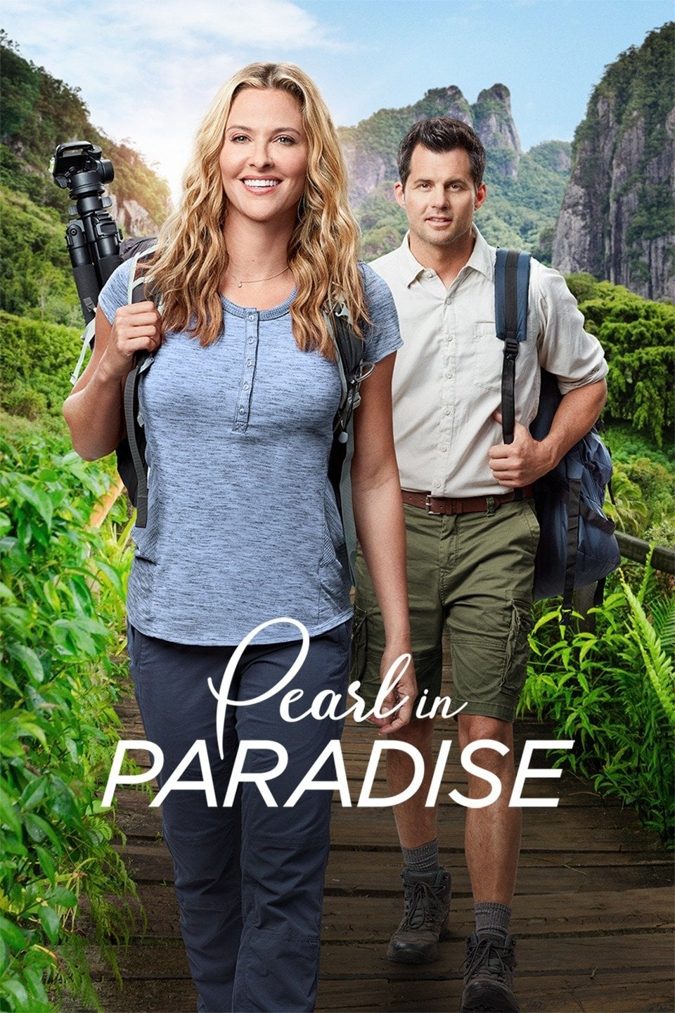 "Poster for the movie ""Pearl in Paradise"""