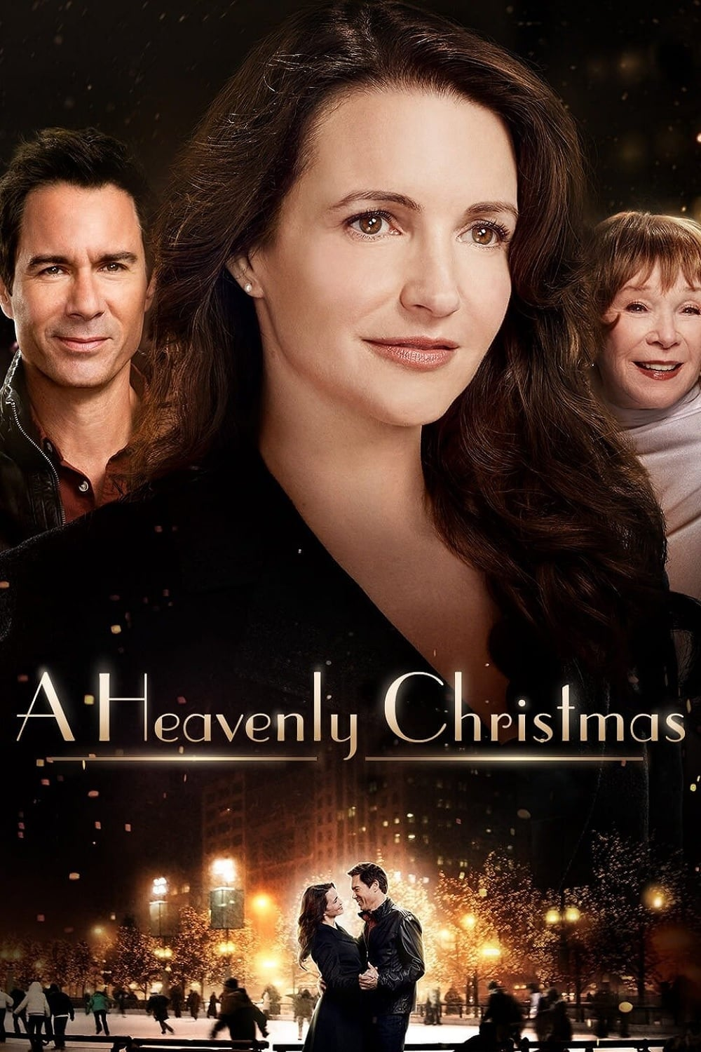 "Poster for the movie ""A Heavenly Christmas"""