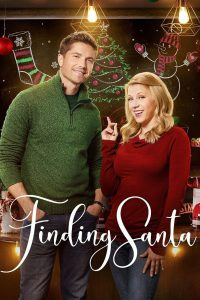 "Poster for the movie ""Finding Santa"""
