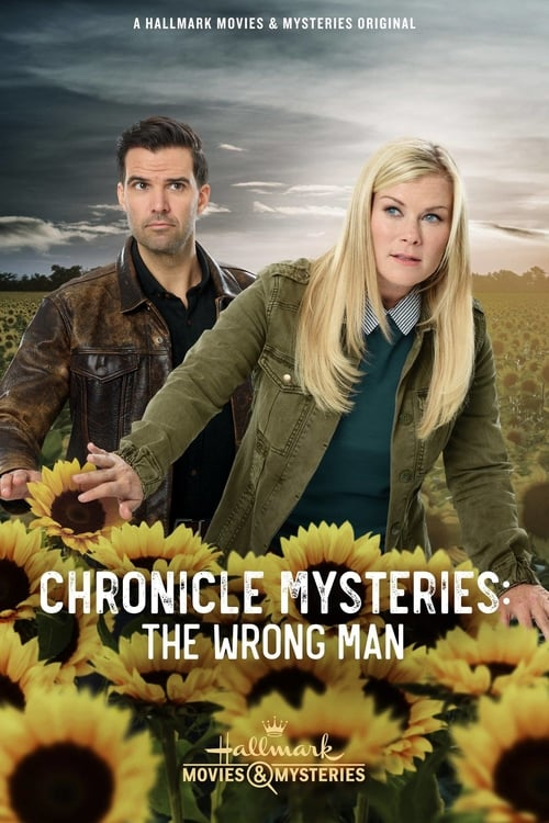 "Poster for the movie ""Chronicle Mysteries: The Wrong Man"""
