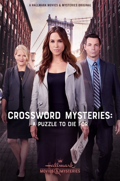"""Poster for the movie """"The Crossword Mysteries: A Puzzle to Die For"""""""