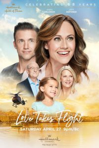 "Poster for the movie ""Love Takes Flight"""