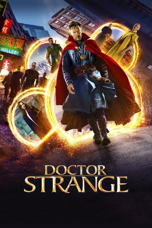 "Poster for the movie ""Doctor Strange"""