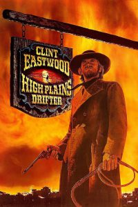 "Poster for the movie ""High Plains Drifter"""
