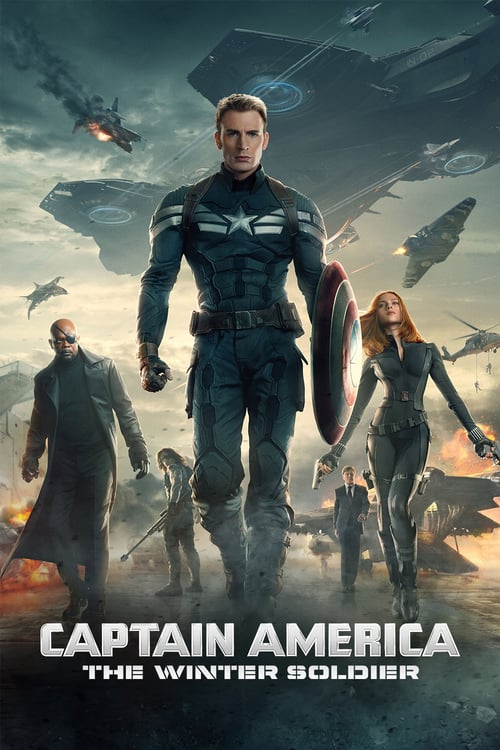 "Poster for the movie ""Captain America: The Winter Soldier"""