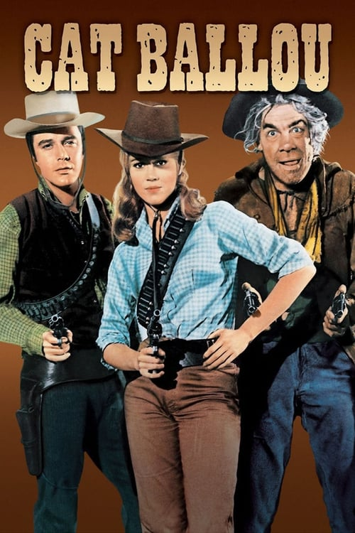 """Poster for the movie """"Cat Ballou"""""""