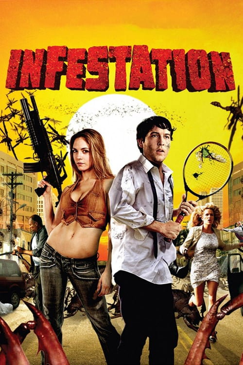 """Poster for the movie """"Infestation"""""""