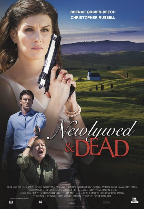 "Poster for the movie ""Newlywed and Dead"""
