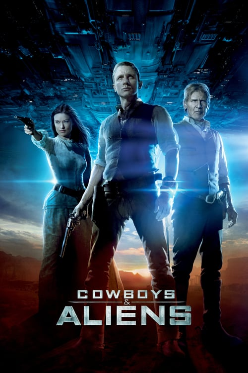 "Poster for the movie ""Cowboys & Aliens"""